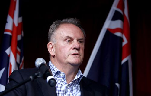 Mark Latham has been approached to join One Nation. Picture: AAP
