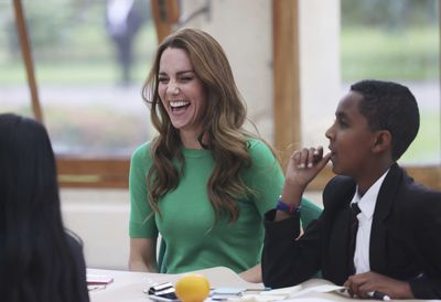 Kate and William attend Generation Earthshot, October