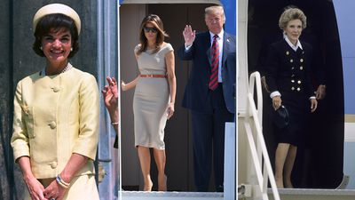 Overseas tours by US first ladies through the years