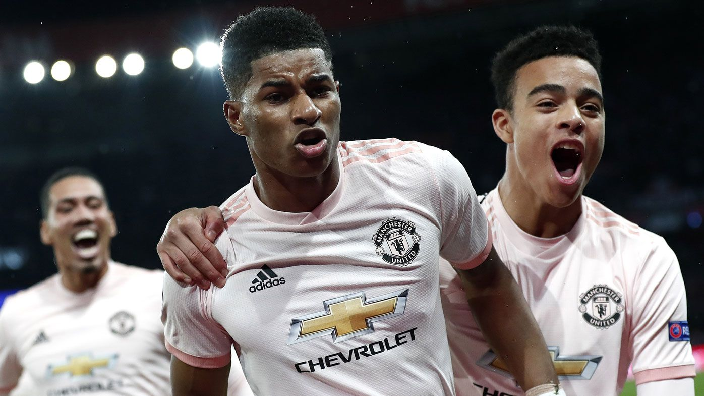 Marcus Rashford's stoppage time VAR penalty knocks out PSG, makes UCL history