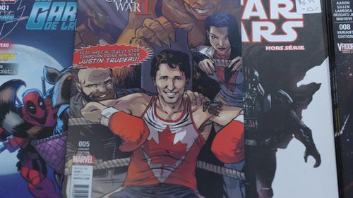 The special edition Marvel comic book. (AFP)