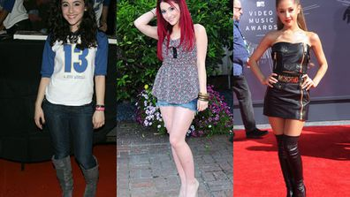 Who dat? Who dat? Even I.G.G.Y. wouldn't recognise fellow pop star Ariana Grande in these old pics.<br/><br/>Scroll through to see how she went from drab to fab, along with some make-up tips from the girl herself.