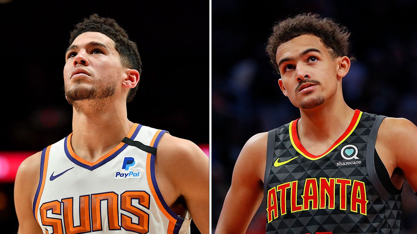 Devin Booker, Trae Young