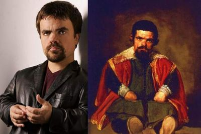 <i>Death at a Funeral</i> actor Peter Dinklage was painted by Spanish artist Diego Velazquez in 1645.