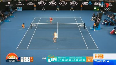 Barty party continues at Australian Open with second round win over Giorgi