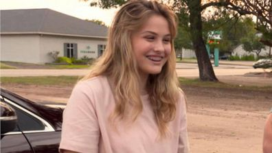 Anna Nicole Smith's daughter DannieLynn visit model's hometown in Texas.