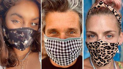 Celebrities, wearing face masks, coronavirus pandemic, Patrick Dempsey, Vanessa Hudgens, Busy Philipps