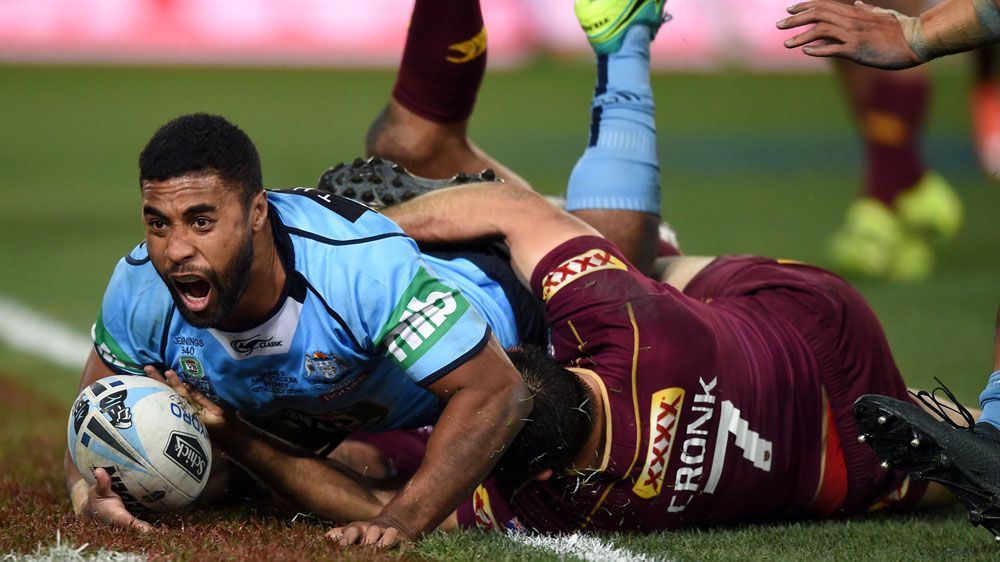 State of Origin: Blues snatch win with try on the siren