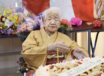 Kane Tanaka world's oldest person