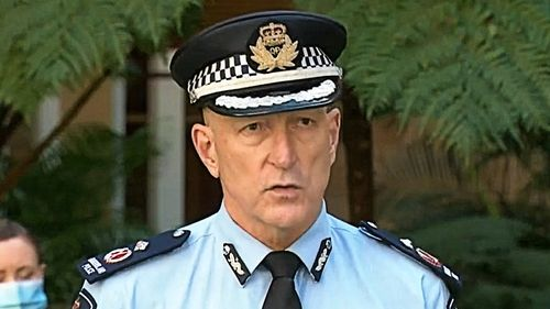 """Deputy Police Commissioner Steve Gollschewski called for all those thinking about protesting the state's orders to """"Go Home"""" and to """"put the interests of your community's safety ahead of your own views."""""""