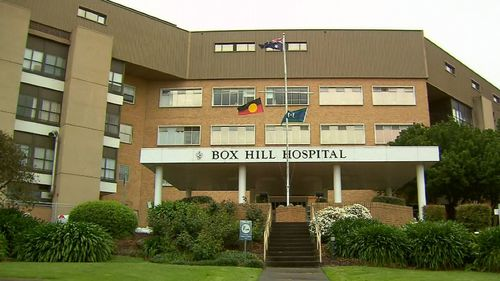 Box Hill hospital in Melbourne has a virus outbreak.