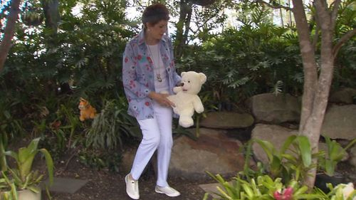 Merlene Paul said the soft toys had proved to be a deterrent. (9NEWS)