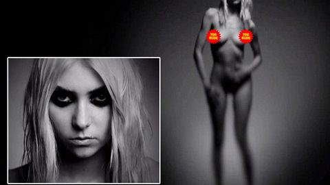 Watch: Taylor Momsen naked to promote new music single