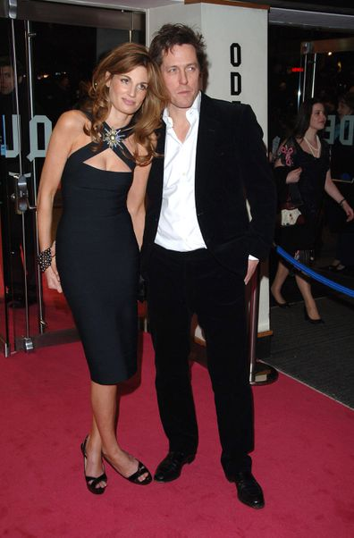 Jemima Khan and Hugh Grant dated for three years.