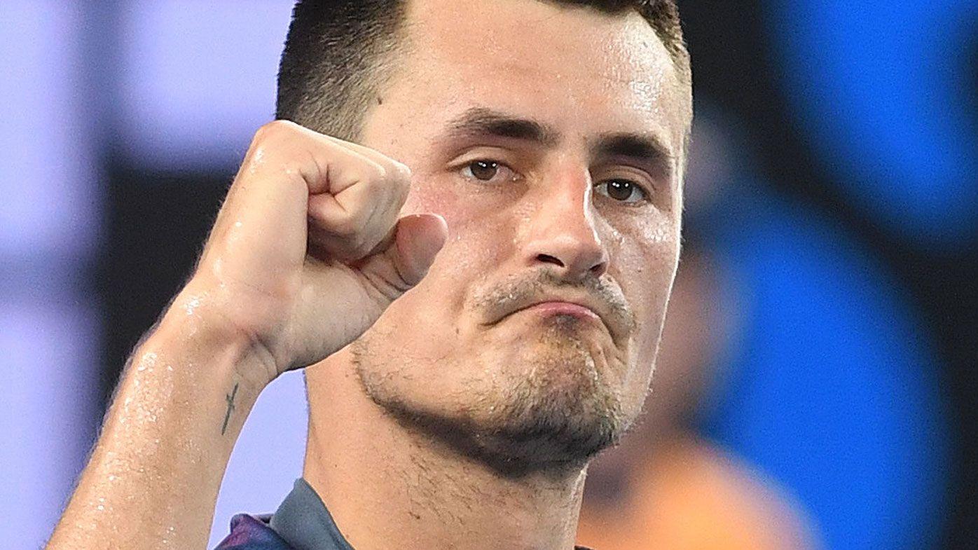 Bernard Tomic and John Millman in all-Australian tennis final