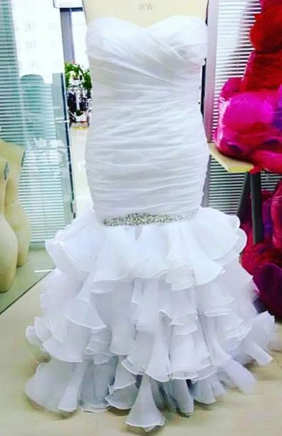 Bride mortified by wedding dress delivery