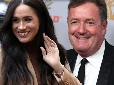 Morgan claims he and Meghan became friends after she sent him a direct message on social media during her Suit days.