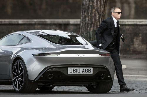 The Aston Martin was originally developed for the 007 film Spectre.