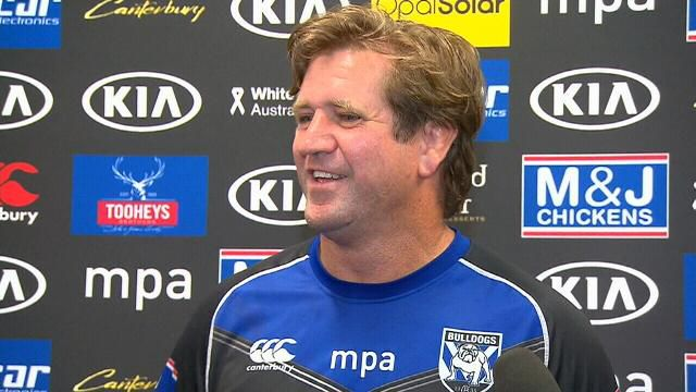 Hasler channels his inner Trump
