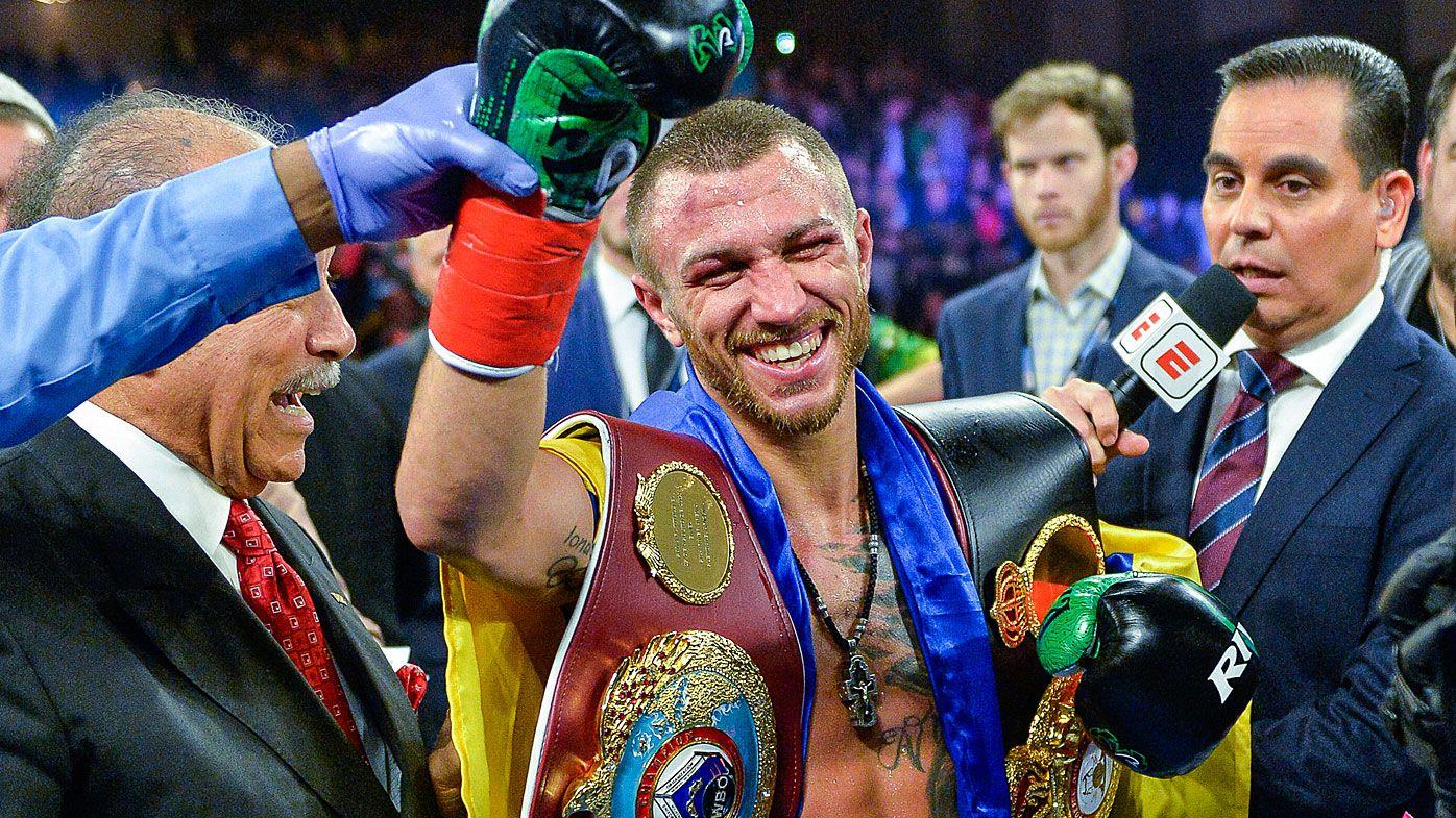 Vasyl Lomachenko defeats Jose Pedraza to claim WBO lightweight title