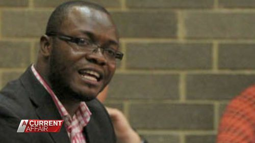 Sydney lawyer Amadu Bangura.