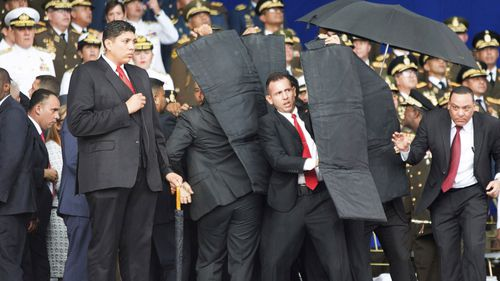 Venezuelan authorities say they have detained six people over drone explosions at a rally led by President Nicolas Maduro, as his critics warned the socialist leader would use the incident to crack down on adversaries.