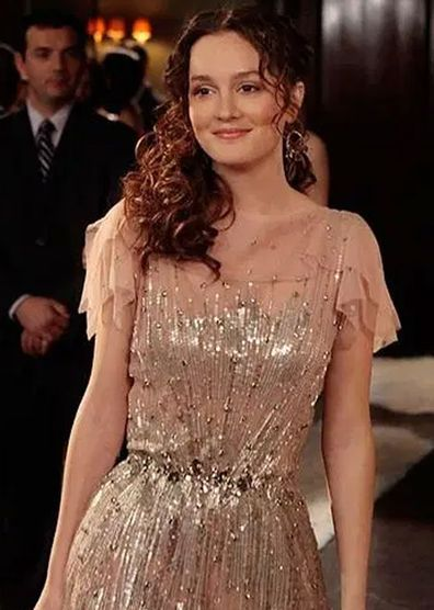 Gossip Girl character Blair Waldorf wore a similar Jenny Packham dress on the show with many comparisons drawn at the time