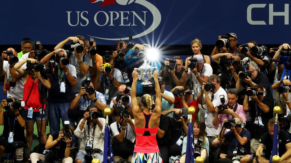 Kerber adds US Open title in stunning year