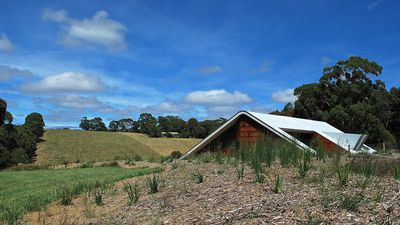 This 'tent' on the Mornington Peninsula sold for $2.5 million