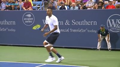 Kyrgios admits to tanking during win at Cincinnati Masters