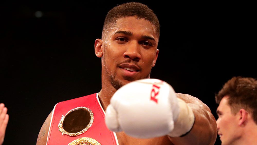 Anthony Joshua (AAP)