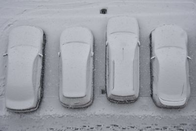 Slovakia: Cars across the country have turned white