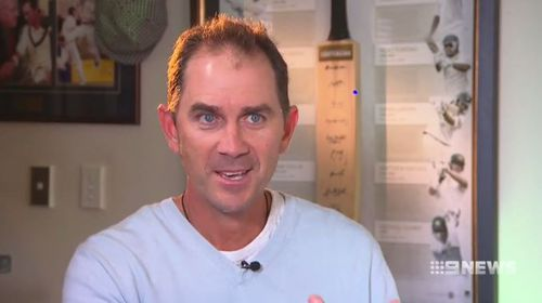 New Australian cricket coach Justin Langer has spoken to 9NEWS about securing his dream job. (9NEWS)