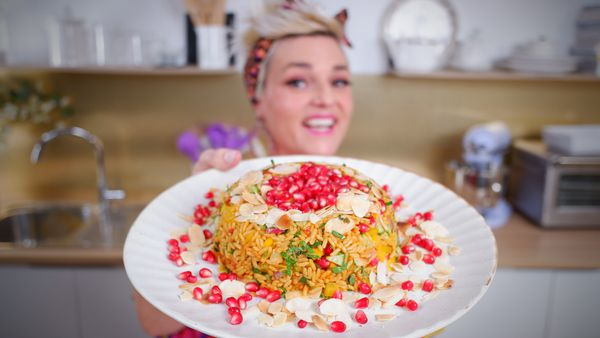 The pressed rice salad hack take rice next level