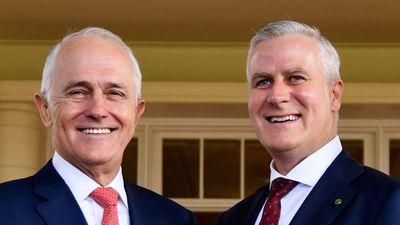 Turnbull greets new deputy