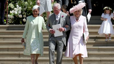 Doria Ragland, Prince Charles and Camilla, the Duchess of Cornwall, May