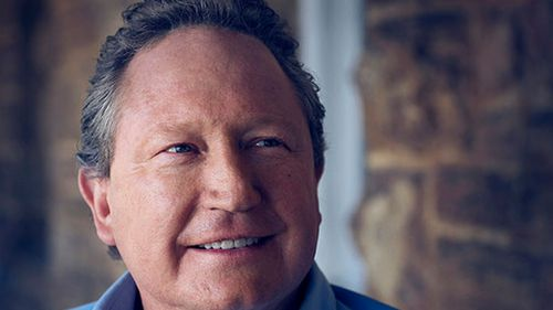 Andrew 'Twiggy' Forrest. (AAP)