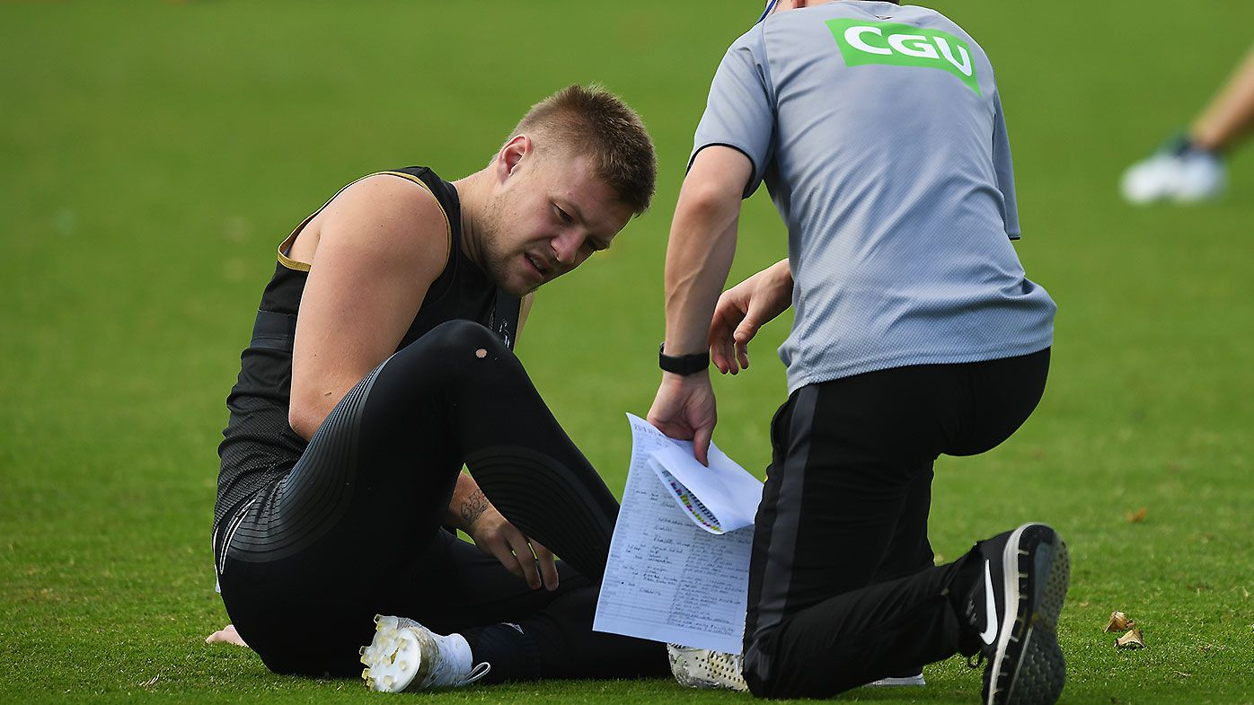 AFL teams Round 9: Jordan de Goey named in Collingwood side despite leg injury