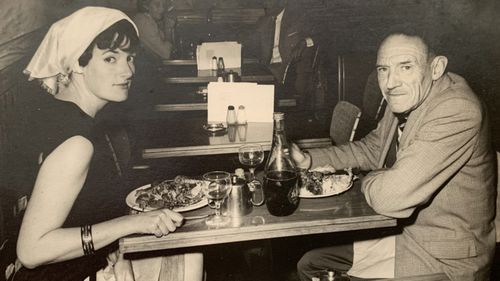 Juanita with her father Neil Smith.