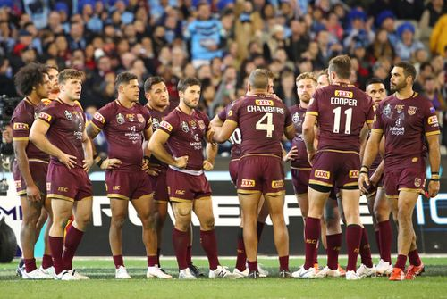 For the Maroons, it's back to the drawing board for Game II on June 24. Picture: Getty.
