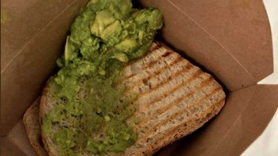 Journalist mocked for complaining about $22 toast order