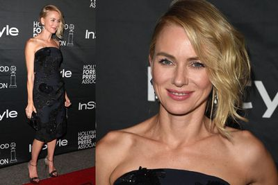 ...She also hit up HFPA & InStyle's 2014 TIFF party.