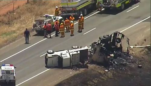 Australia national road toll deaths 2018