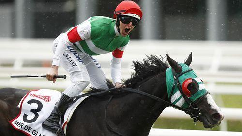 Melbourne Cup: Vow and Declare wins Australia's most prestigious horse race