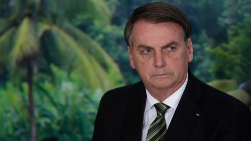 President Jair Bolsonaro has been criticised for his handling of the crisis.