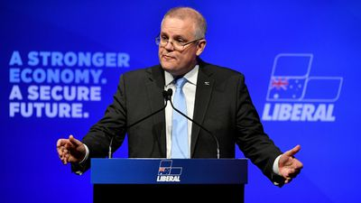 'Tax off, tax on' Morrison argues