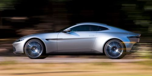 Eight DB10s were used in teh filming of the James Bond movie, Sceptre.