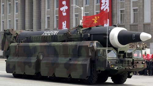 North Korea has not been afraid to show off its military power.