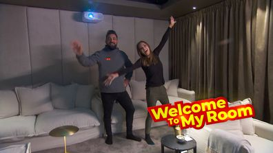 Welcome To My Room: Ronnie and Georgia gush over their home cinema's sound system