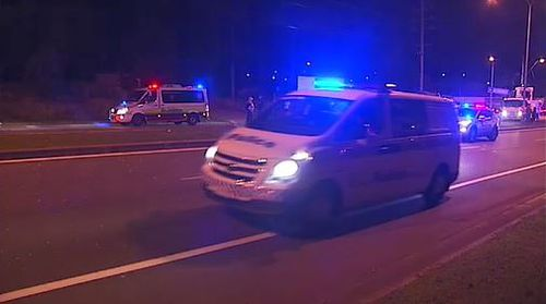Almost 3000 Gold Coast residents were left without power after the crash. Image: 9News
